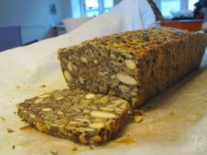Opskrift på Nøddebrød – Glutenfri