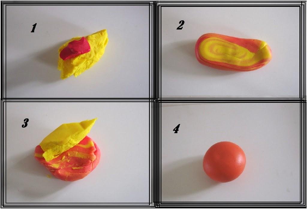 Hvordan man blander farver i polymer ler - Cernit, fimoler mm.