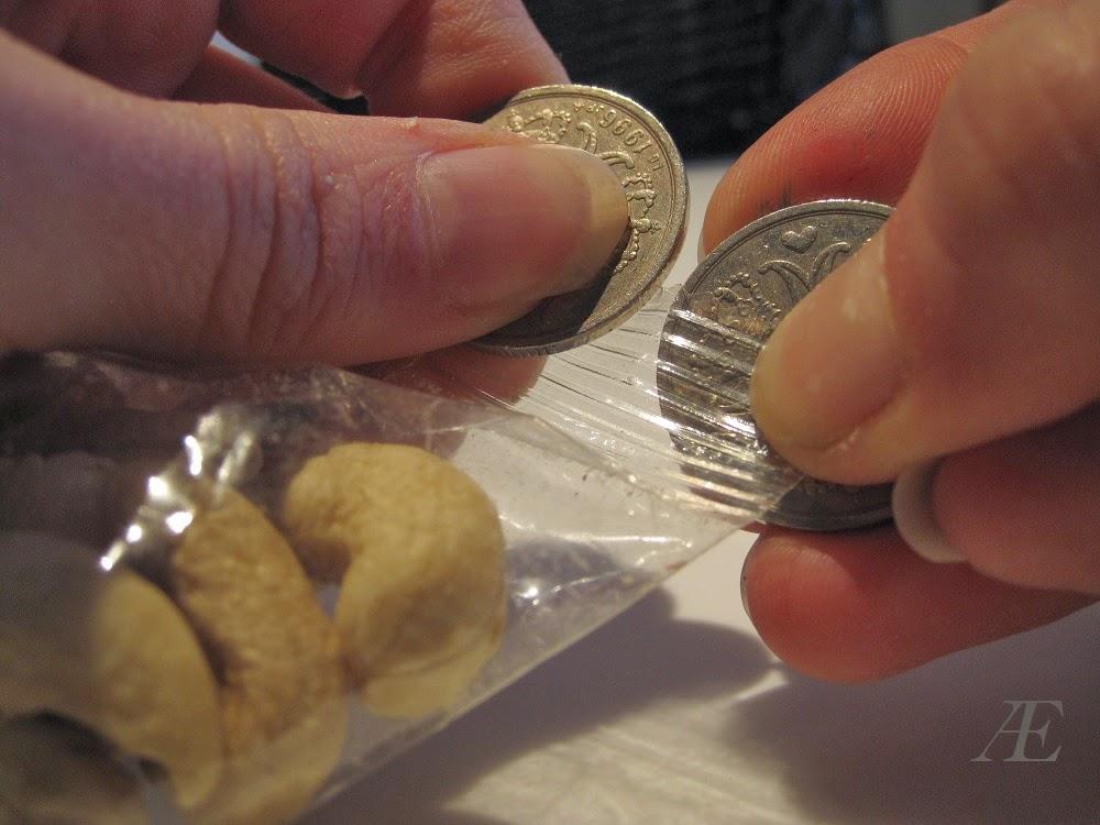 Life hack, mønter,