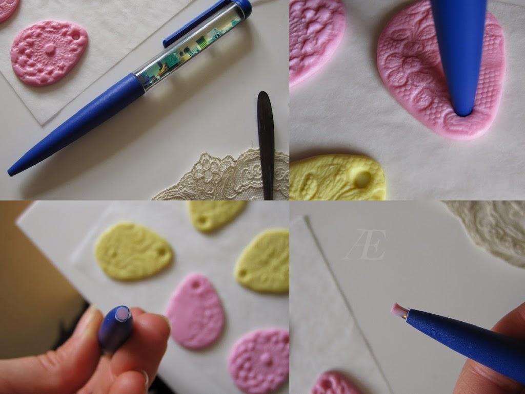 Huller i påskeæg og lignende, kan laves ved hjælp af en kuglepen