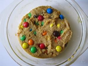 Opskrift på Chocolate chip cookie i mikroovn