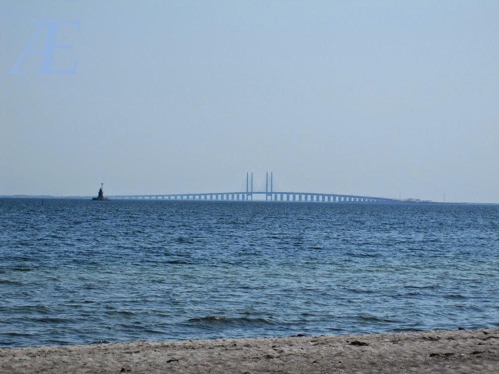 Udsigt fra Amager strand.