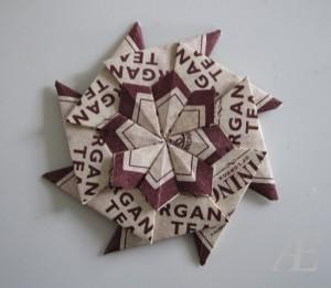Endnu en origami stjerne