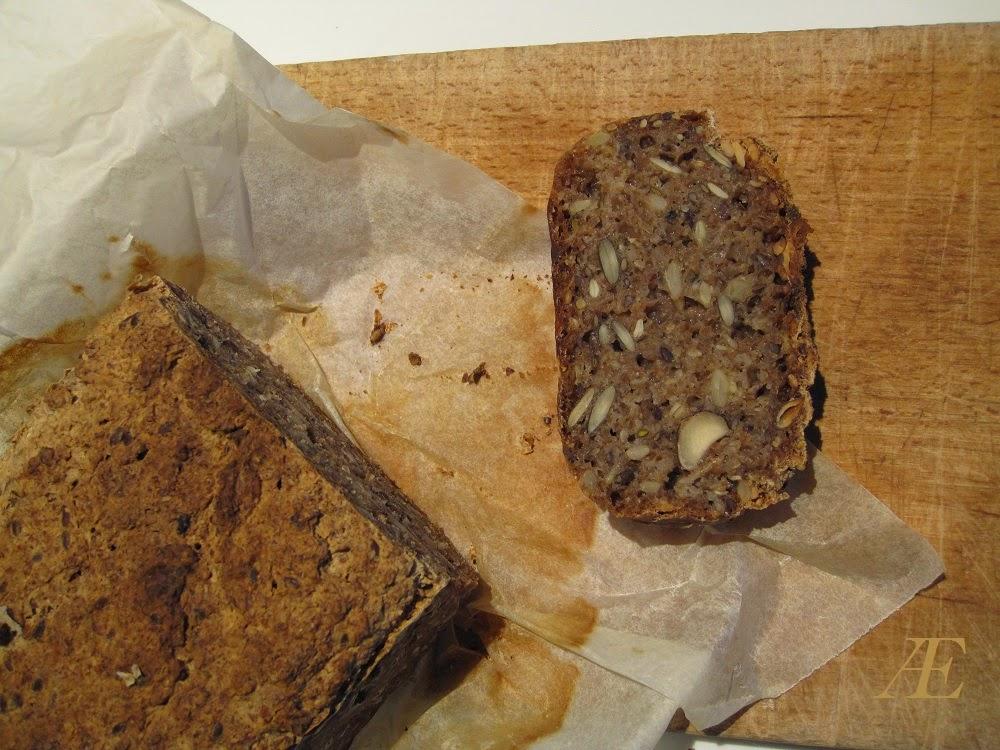 Hjemmebagt Rugbrød, med opskrift