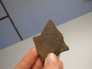 sten til spids på en tryllestav