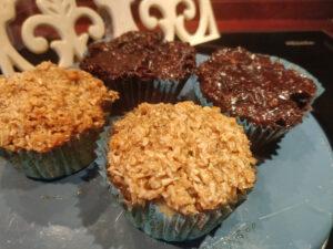 Opskrift på Drømmekage muffins (-med kakao?)