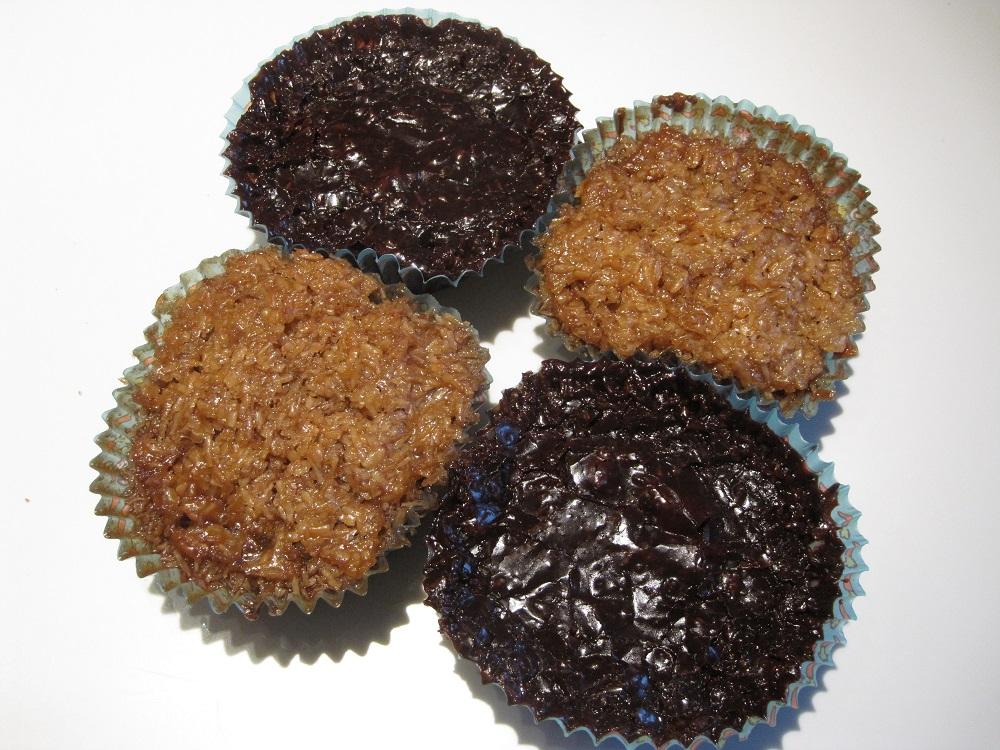 Opskrift på to slags drømmekage muffins