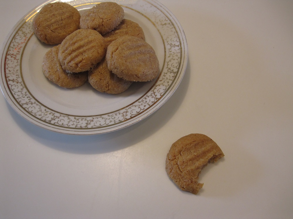 peanutbutter cookies, haps