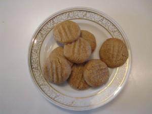 Opskrift på Peanutbutter cookies