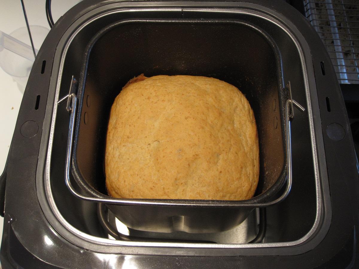Brød i en bagemaskine