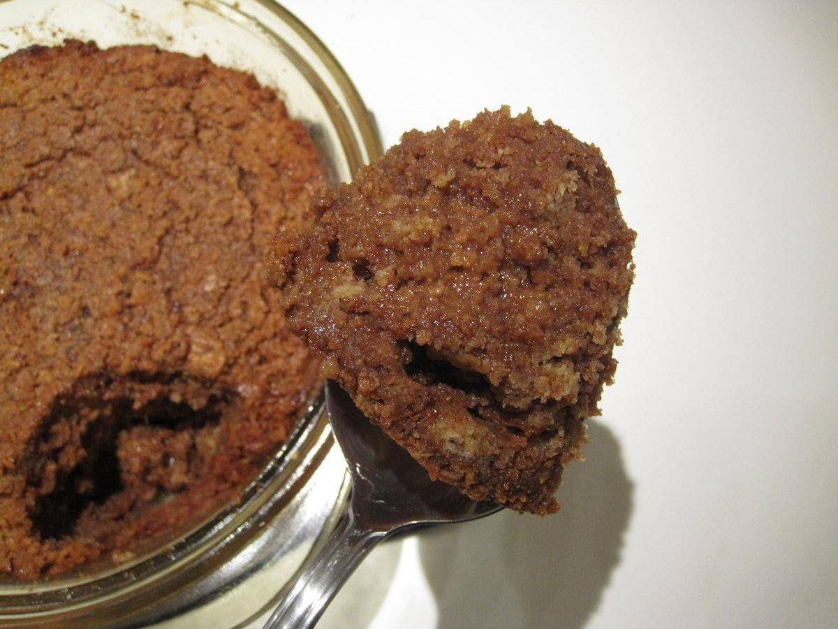 Friskbagt chokolade brødbudding - kage