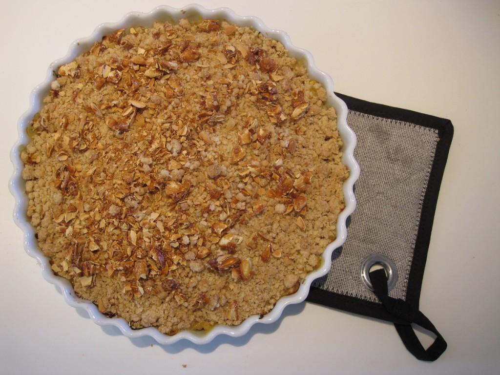 Opskrift på græskar crumble / græskar smuldre kage