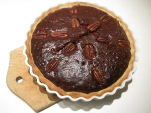 Opskrift på Pecan pie!