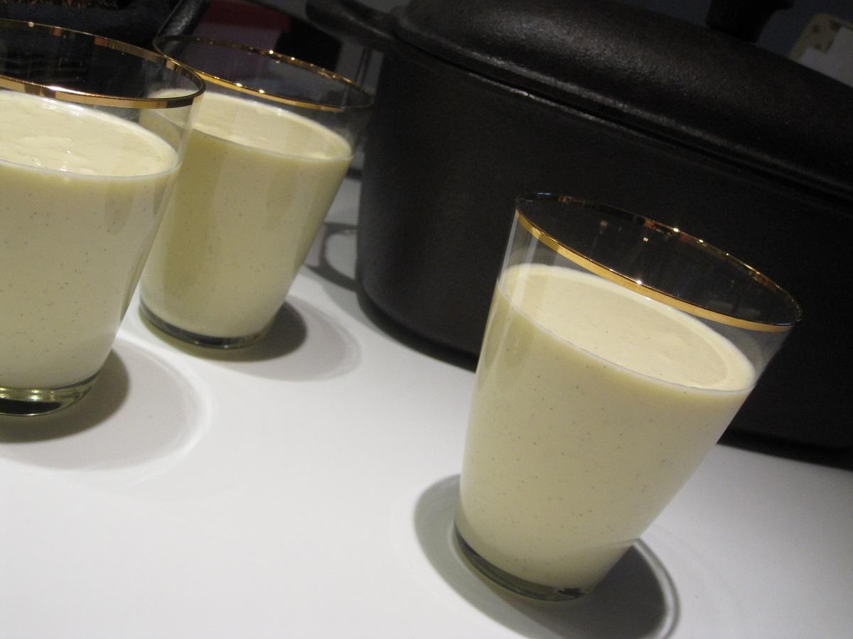 Cremet og lækker hvid chokolademousse