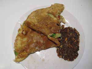 "Opskrift på Bonde omelet – Portions""anrettet"" og virkelig nem!"
