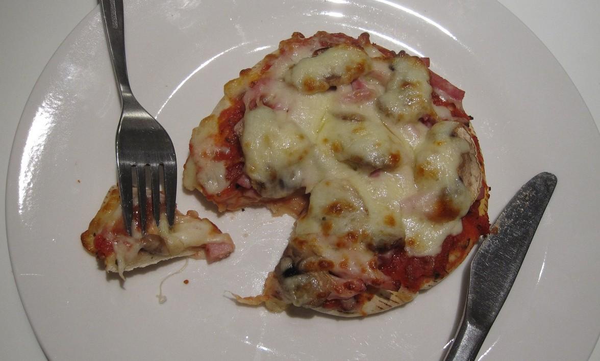 Hjemmelavet mini pizza