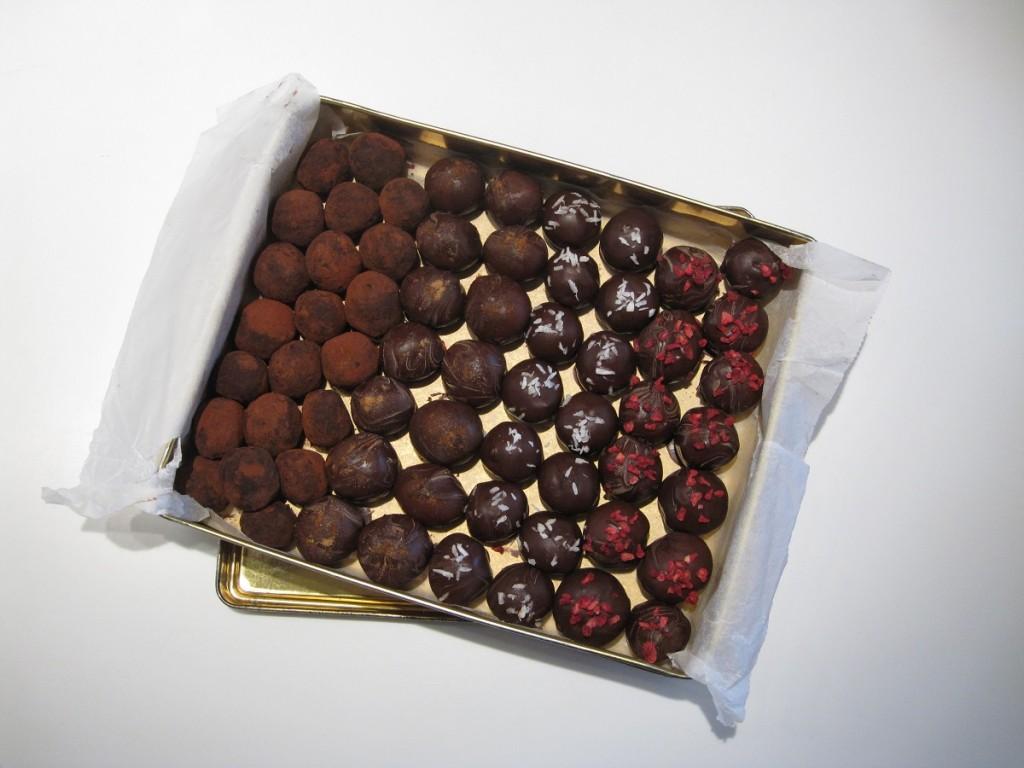 Opskrift på sundere og glutenfri konfekt kugler