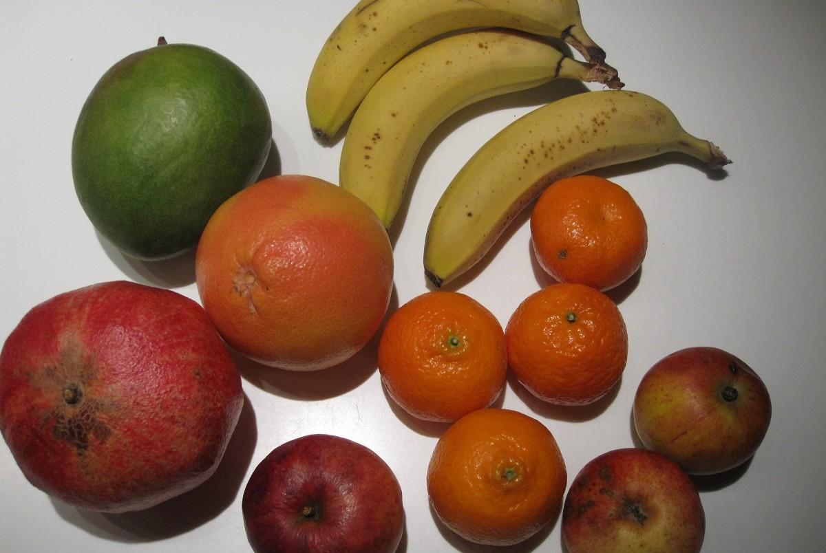 Frugt til frugtsalat