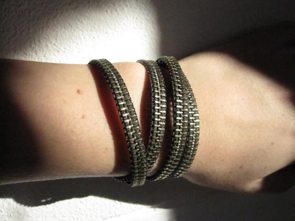 Smarte lynlås armbånd - DIY