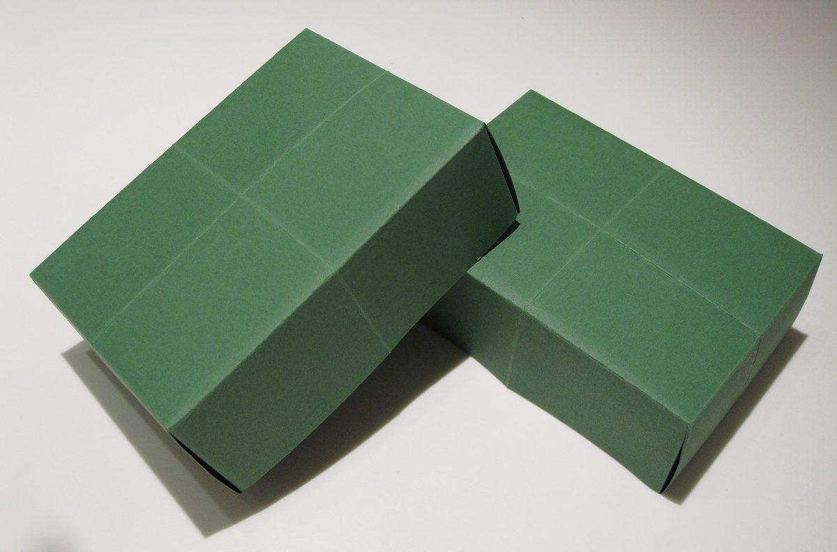 Hjemmelavede æsker af papir
