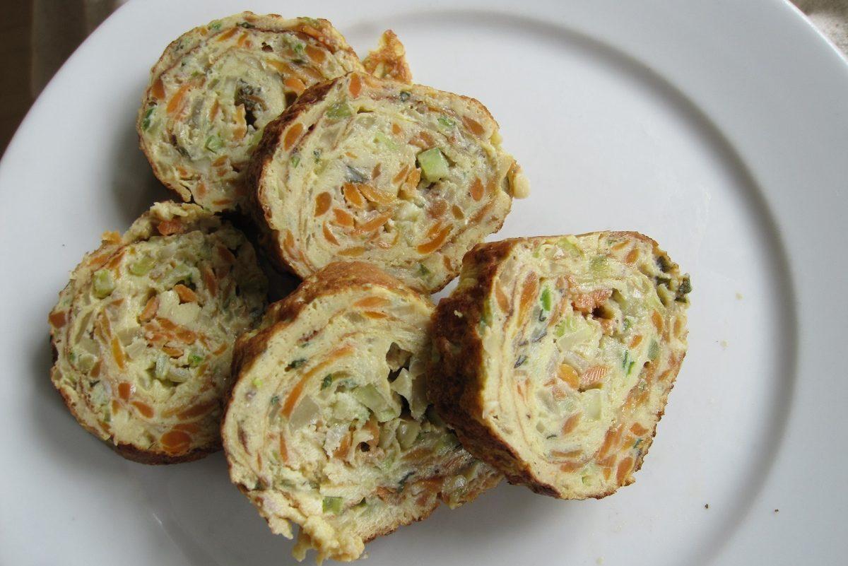 Kolde æggeruller. Perfekte til picnic! Tamagoyaki?