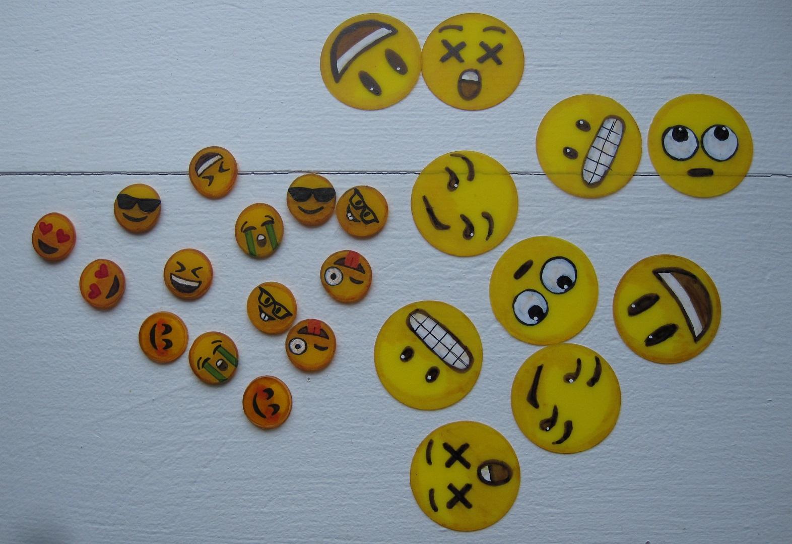 Emojis af krympeplast