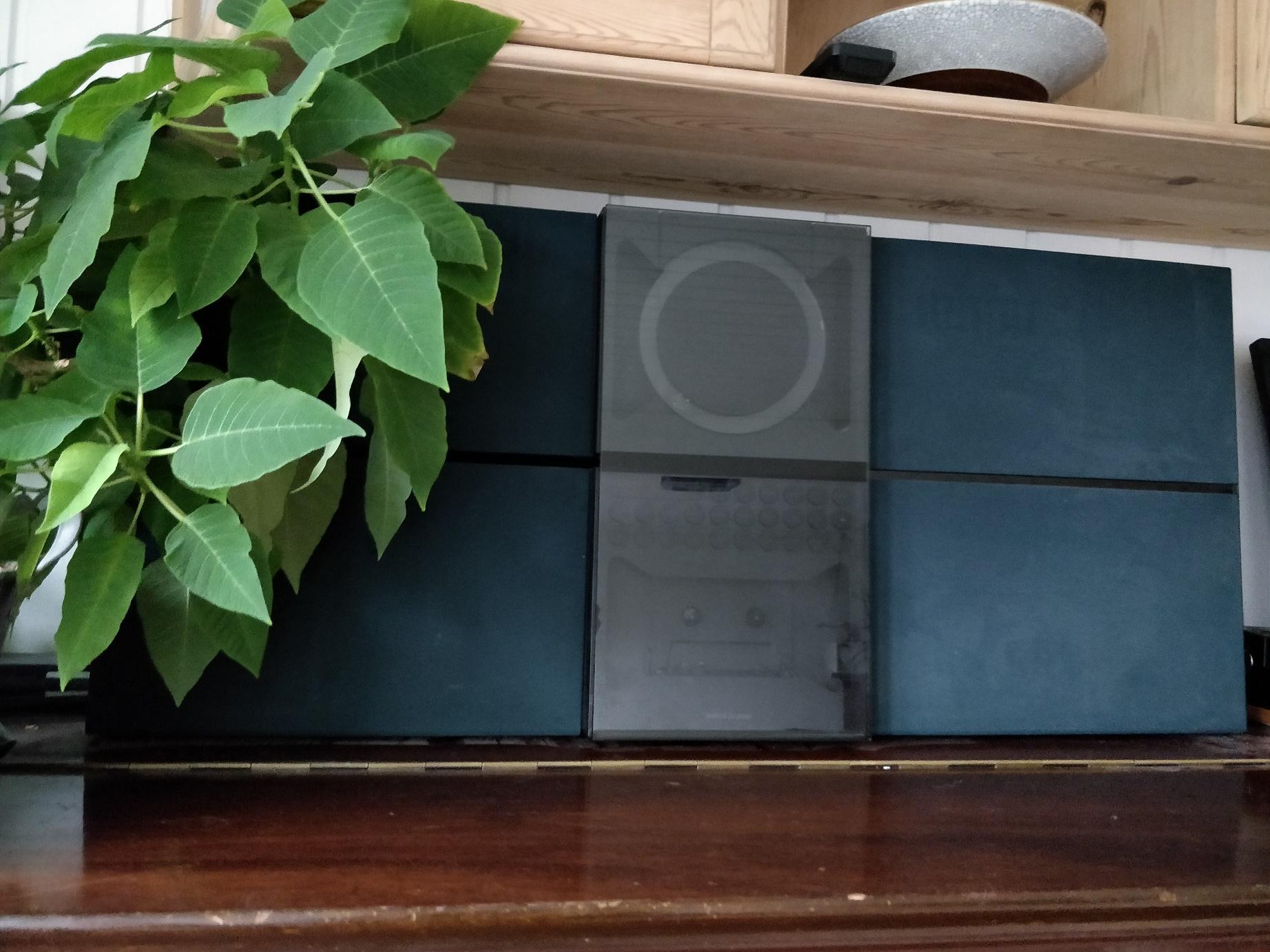 Bang og Olufsen - Beosound century med grønt frontstof