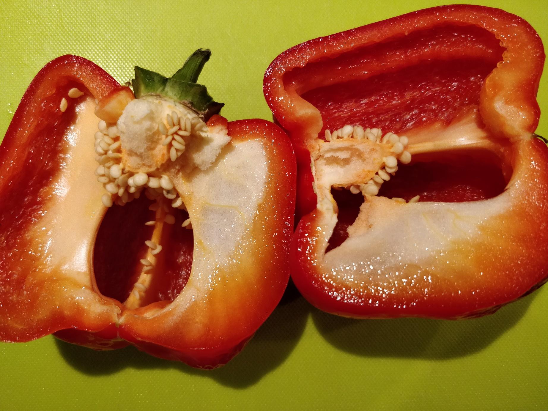 Peberfrugt kan bruges i tzatziki - opskrift
