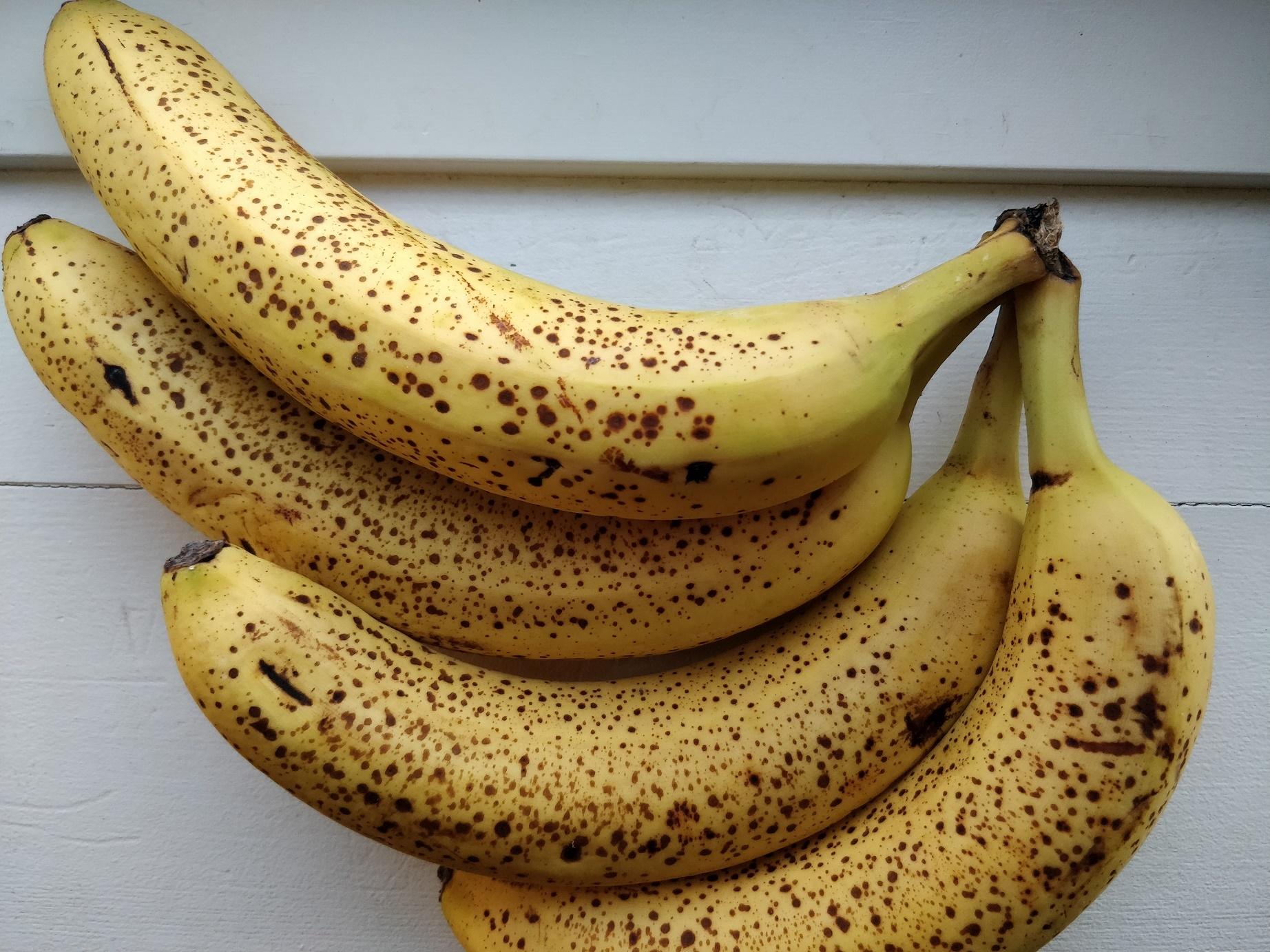 Bananer er fantastiske at fryse!