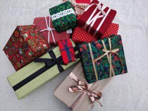 Bæredygtig gave indpakning i stof?