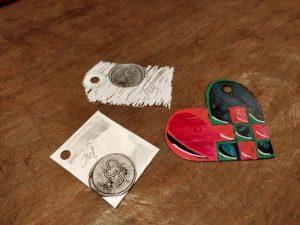 """Hjemmelavede """"til og fra""""-kort, der kan genbruges!"""